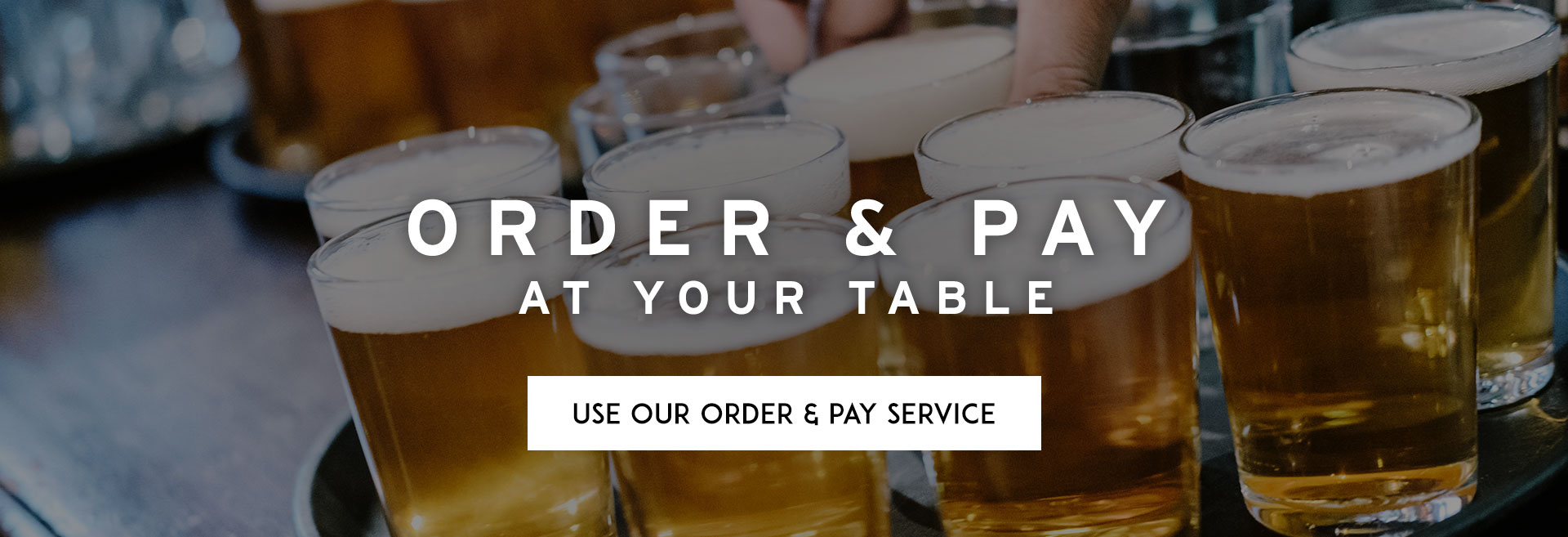 Order at Table at The Commercial