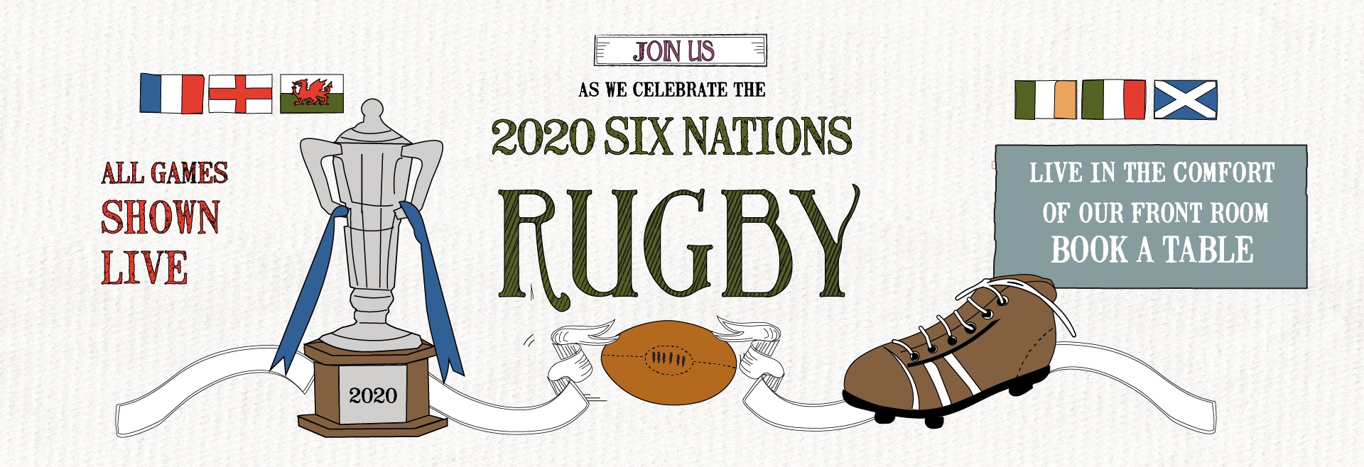 Six Nations at The Commercial