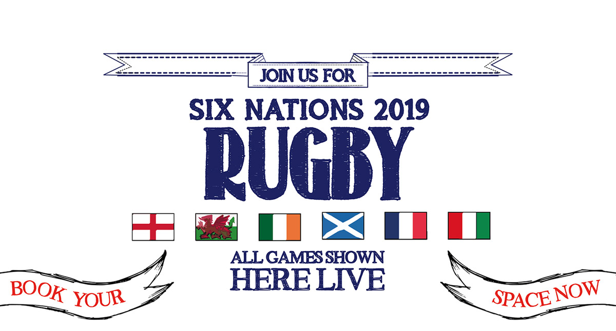 Watch the 6 Nations at The Commercial in London
