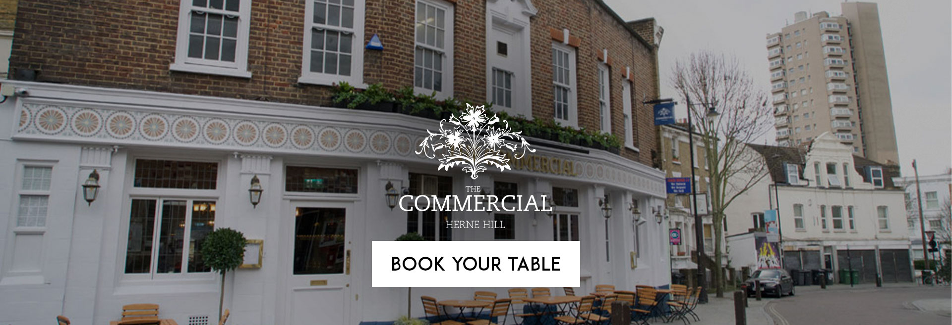 Book Your Table at The Commercial